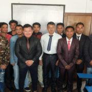 ネパール実習生・現地撮影